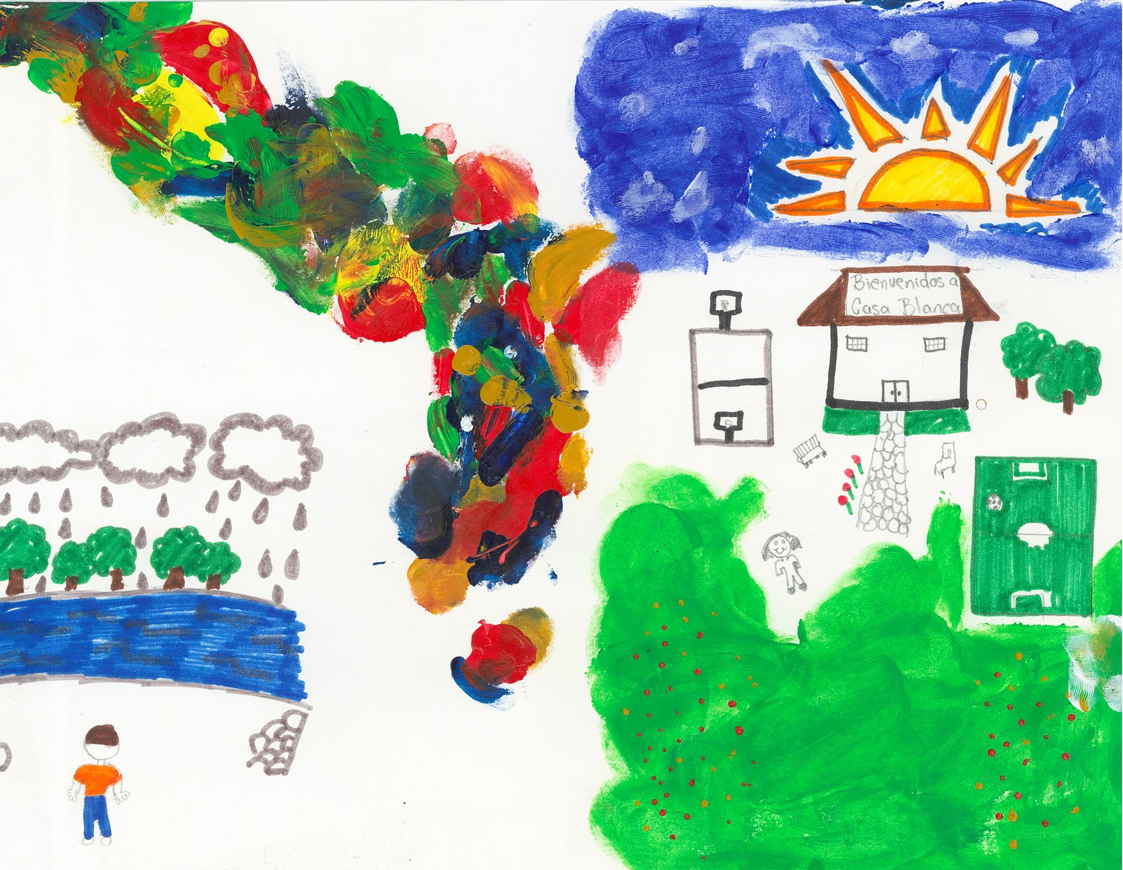Immigrant Youth's Artwork