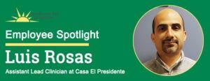 Luis Rosas Employee Spotlight