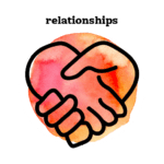 relationships watercolor icon