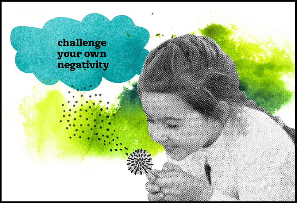 Challengin negativity support content