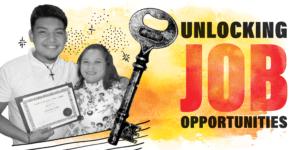Unlocking Job Opportunities graphic