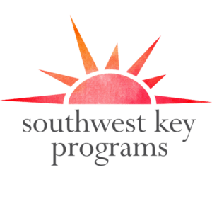 Southwest Key Programs Red Watercolor Logo