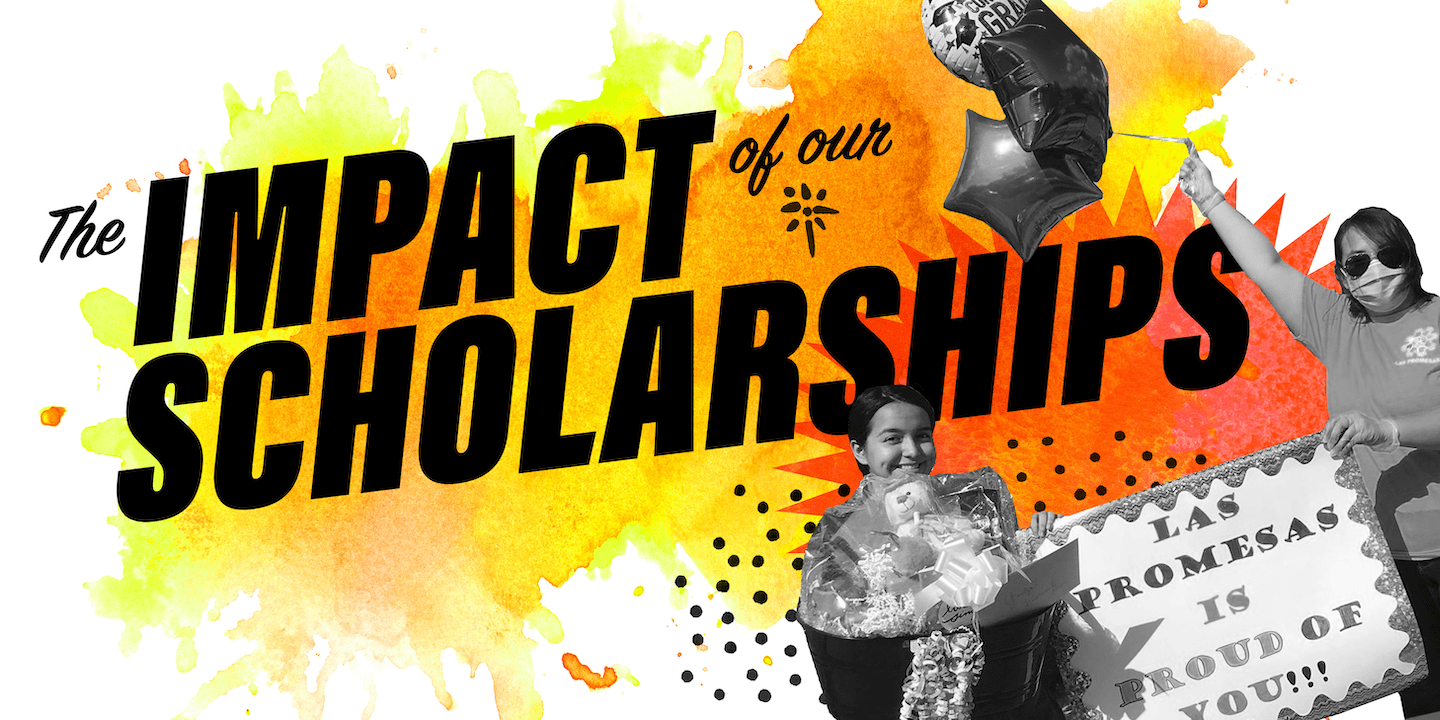 Impact of Scholarships Graphic