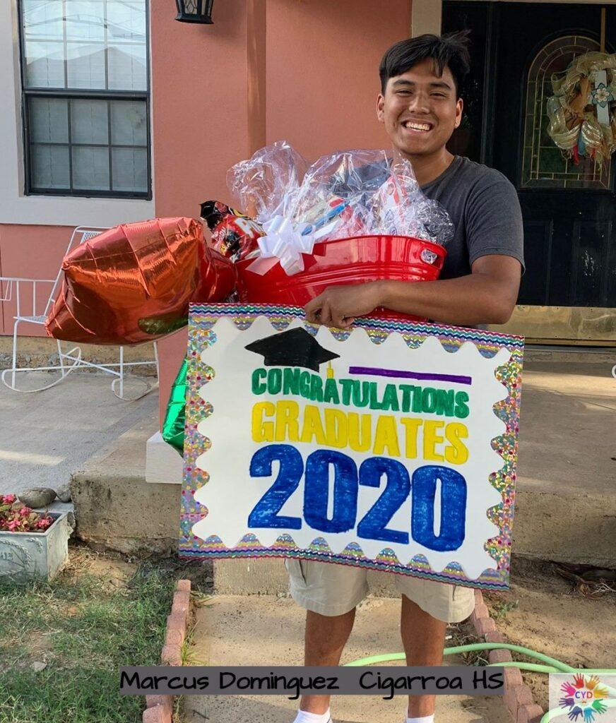 Marcus Dominguez, Educational Scholarship Awardee