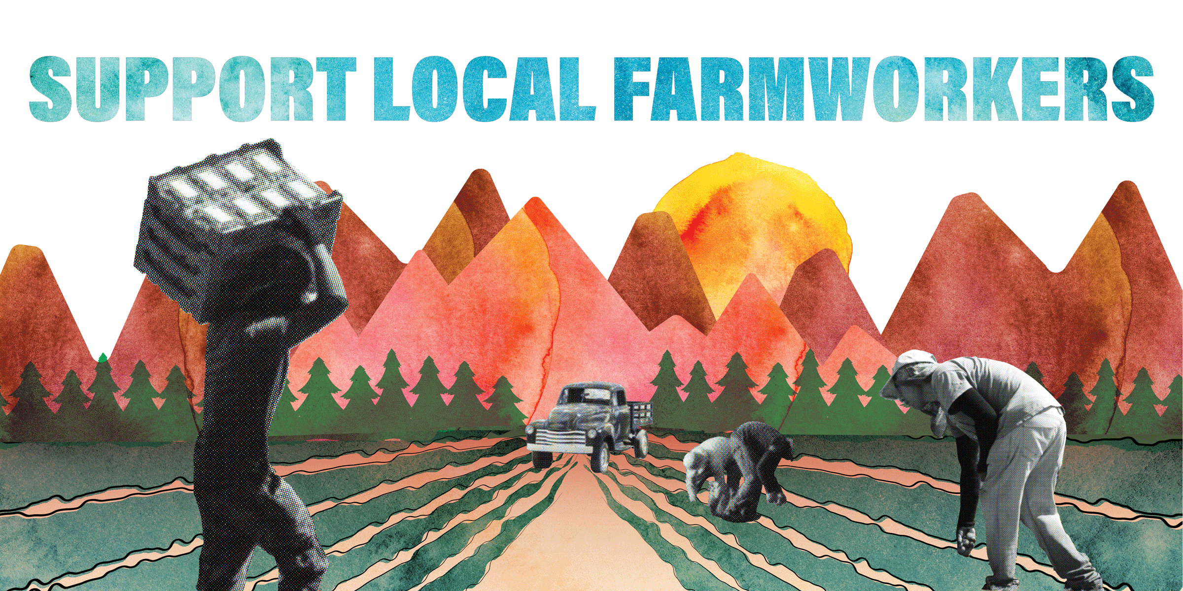 Support Local Farmworkers Graphic