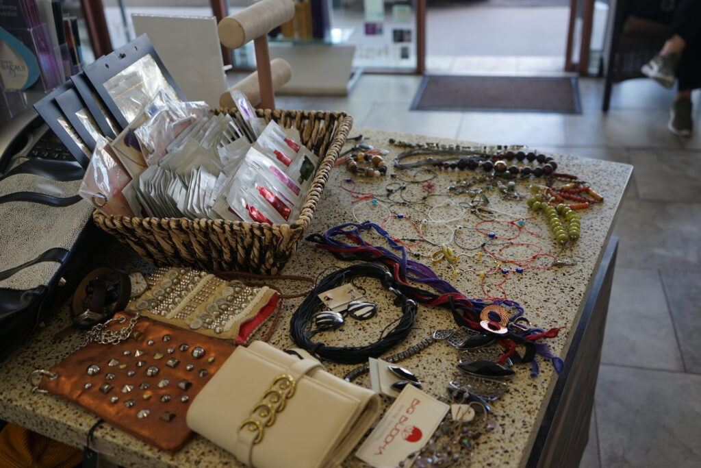 Jewelry and wallets