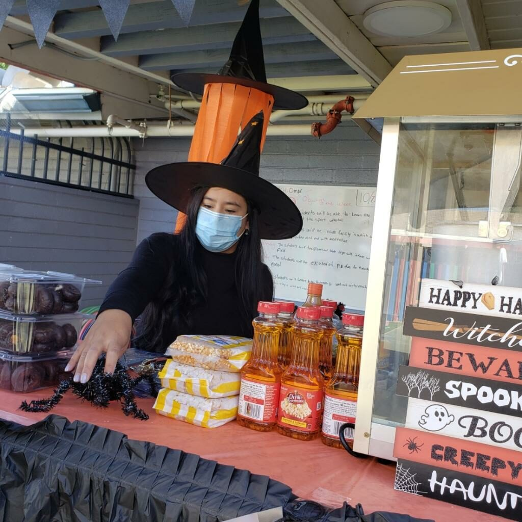 Snack stand at Casa Lighthouse Carnival