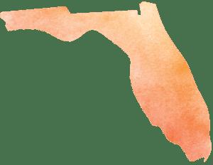 Florida Icon in watercolor