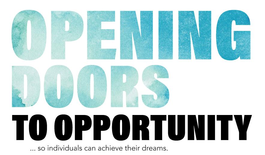 Headline: Opening Doors to Opportunity