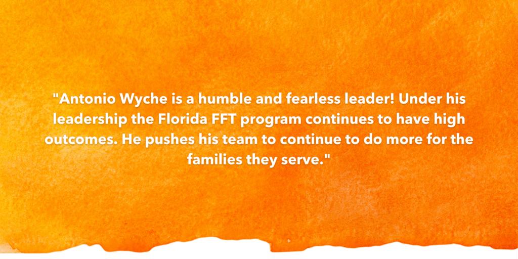 Testimonial Recognizing Antonio Wyche