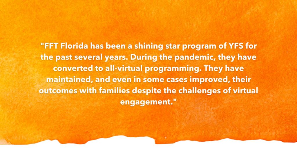 SOSA Testimonial Recognizing FFT Florida