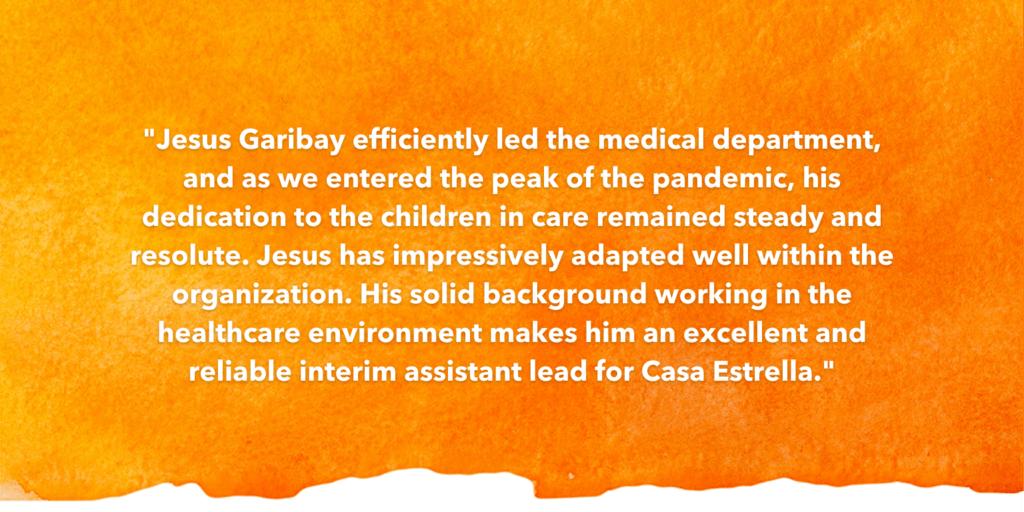 SOSA Testimonial Recognizing Jesus Garibay