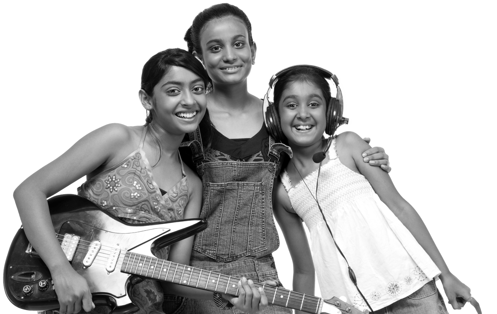 Youth girl musicians